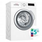 Masina de spalat rufe slim Bosch WLL24260BY, 6.5 kg, 1200 rpm, clasa A+++, adancime 44.6 cm, tehnologie EcoSilence Drive, alb