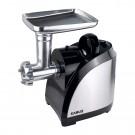 Masina de tocat carnea, electrica, Samus SMT-1510X, functie Reverse, 1.2 kg/min, 1500 W, argintiu cu negru + accesoriu suc rosii