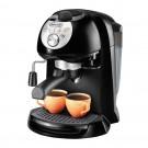 Espressor cafea DeLonghi EC201.CD B, cafea macinata, 15 bar, 1100 W, capacitate 1.4 l, negru cu gri