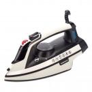 Fier de calcat Daewoo DSI3000W, 3000 W, talpa ceramica, 0.28 l, 40 g/min, functie oprire automata, sistem auto-curatare, alb cu negru