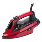 Fier de calcat Daewoo DSI3000R, 3000 W, talpa ceramica, 0.28 l, 40 g/min, functie oprire automata, sistem auto-curatare, rosu cu negru