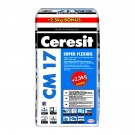 Adeziv super - flexibil pentru gresie si faianta Ceresit CM 17, interior / exterior, gri, 25 kg + 2.5 kg adeziv cadou
