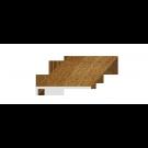 Glaf PVC extrudat exterior Plastivan, stejar, 500 x 22.5 cm