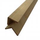 Sipca din lemn de rasinoase, colt tip L, 40 x 4 mm, 2 m