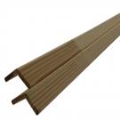 Sipca din lemn de rasinoase, colt tip L,  25 x 4 mm, 2 m