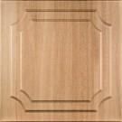Tavan fals decorativ din polistiren C1001 clasic fag inchis 50 x 50 x 0.3 cm