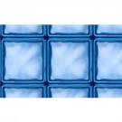 Autocolant vitraliu albastru 0.45 x 15 m