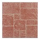 Gresie portelanata Brick maro 33,5x33,5 cm