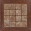 Gresie portelanata Demre maro 40x40 cm