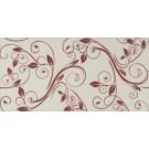 Decor faianta baie / bucatarie Yaren lucios bordeaux  25 x 50 cm