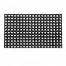 Covor intrare exterior RT Hollowmats RT325, cauciuc, negru, dreptunghiular, 60 x 40 cm