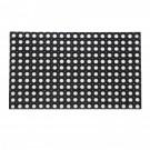 Covor intrare exterior RT Hollowmats RT326, cauciuc, negru, dreptunghiular, 80 x 50 cm
