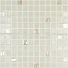 Mozaic din sticla 500/722, mix bej, interior / exterior, 31.7 x 31.7 cm