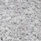 Covor living / dormitor Wuhan Chip microfibra 06 poliester dreptunghiular gri 80 x 150 cm