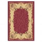Covor living / dormitor Carpeta Atlas 30241-41355 polipropilena heat-set dreptunghiular rosu 200 x 300 cm