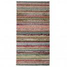 Covor living / dormitor McThree Swing 6251 3P01 polipropilena frize, heat-set dreptunghiular multicolor 160 x 230 cm