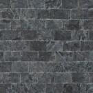 Marmura scapitata Black interior / exterior 1.5 x 10 x 20 cm