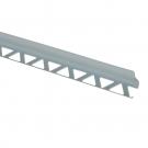 Profil PVC pentru colt interior, SET, gri,10 mm, 2.5 m