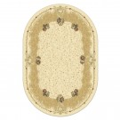 Covor living / dormitor Carpeta Atlas 30242-41333 polipropilena heat-set oval bej 160 x 230 cm