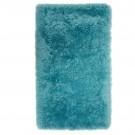 Covor living / dormitor Wuhan Chip Shaggy 6 poliester dreptunghiular albastru 80 x 150 cm