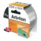 Banda adeziva izolare pardoseala, Arbiton Izo-Tape, aluminiu, 25 m x 50 mm