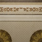 Decor pentru gresie Versailles Cenefa, crem, lucios, 60 x 60 cm