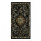 Covor living / dormitor Carpeta Atlas 86971-41611 polipropilena heat-set dreptunghiular bleumarin 60 x 110 cm