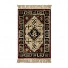 Covor living / dormitor Carpeta Atlas Riv 86881-41745 polipropilena heat-set dreptunghiular caramiziu 80 x 160 cm