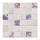 Decor faianta baie / bucatarie Cesarom Mozaic Land 2600-0101, gri, mat, 30 x 30 cm
