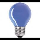 Bec E27 Philips P45 15W albastru 230V