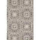 Covor living / dormitor Sintelon Mondo 48WQW polipropilena frize dreptunghiular gri 190 x 290 cm