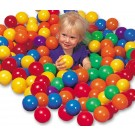Minge colorata Intex Fun Ballz, D 8 cm, set 100 bucati