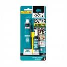 Adeziv bicomponent universal, Bison Power Adhesive, transparent, 65 g
