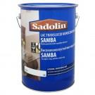 Lac pentru parchet Sadolin Samba 5000467, transparent,semi - lucios, 5 L