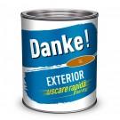 Vopsea alchidica pentru lemn / metal, Danke, exterior, ocru, 4 L