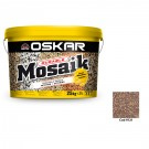 Tencuiala decorativa acrilica Oskar Mosaik 9721, mozaicata, 25 kg