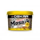 Tencuiala decorativa acrilica, interior / exterior, Oskar Mosaik 9725, mozaicata, 25 kg