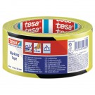 Banda marcare Tesa 60760, galben / negru, interior / exterior, 50 mm