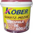 Tencuiala decorativa mozaicata pentru soclu, Kober K - 125, interior / exterior, 25 kg
