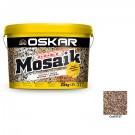 Tencuiala decorativa acrilica Oskar Mosaik 9727, mozaicata, 25 kg