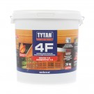 Agent ignifug pentru lemn, Tytan 4F, transparent / rosu, 20 kg