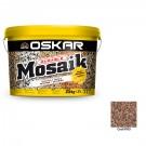Tencuiala decorativa acrilica Oskar Mosaik 9705, mozaicata, 25 kg