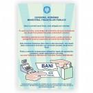 Indicator semnalizare solicitati bon fiscal Creative sign, pvc, forma dreptunghiulara, 30 x 20 cm