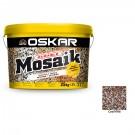 Tencuiala decorativa acrilica Oskar Mosaik 9706, mozaicata, 25 kg