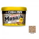 Tencuiala decorativa acrilica Oskar Mosaik 9722, mozaicata, 25 kg