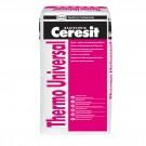 Adeziv polistiren Ceresit Thermo Universal, interior / exterior, 25 kg