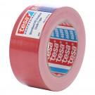Banda adeziva, pentru reparatii, din textil, rosu, Tesa 4688, 5 cm x 25 m