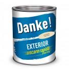 Vopsea alchidica pentru lemn / metal, Danke, exterior, crem, 0.75 L