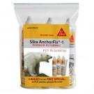 Adeziv sintetic pentru ancorari, Sika Anchorfix - 1, bicomponent, set 3 bucati, 300 ml / bucata
