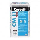 Adeziv gresie si faianta Ceresit CM11 Plus, gri, pentru interior / exterior, 25 kg